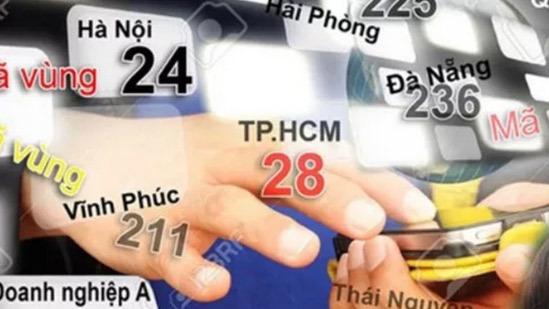 Tâm điểm CN: Danh sách mã vùng điện thoại mới các tỉnh thành