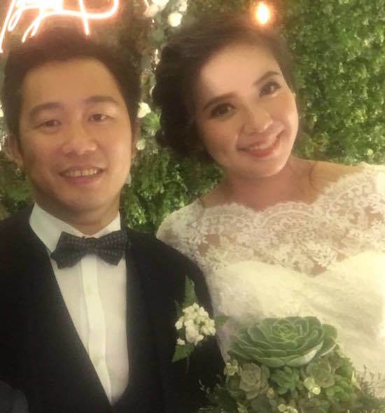 Clip cưới đẹp như cổ tích của Á hậu Kiều Khanh và chồng hơn 12 tuổi