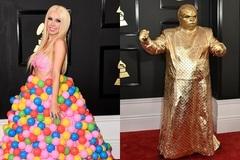 Những trang phục kỳ dị trên thảm đỏ Grammy 2017