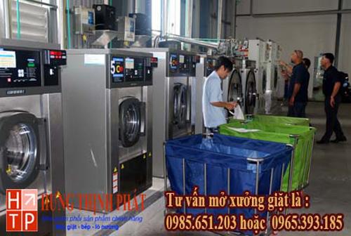 Chọn máy giặt công nghiệp cho xưởng giặt là