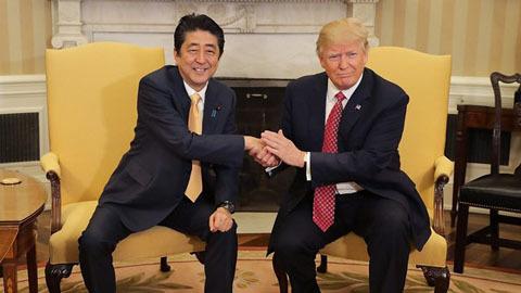 Thủ tướng Nhật, Donald Trump, Shinzo Abe, ông Trump gặp ông Abe