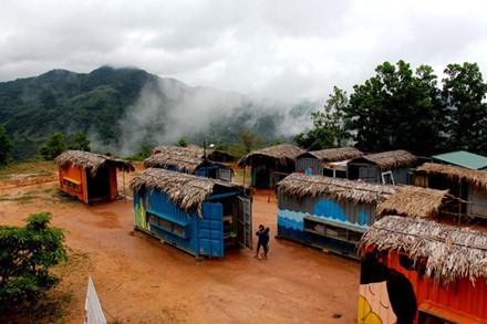 Cận cảnh những ngôi nhà bán trú cho học sinh vùng cao bằng… container