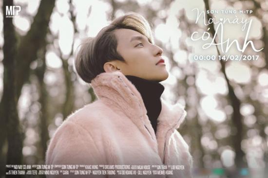 Sơn Tùng, Slim V đua nhau tung MV Valentine lúc nửa đêm