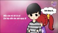"""Clip hoạt hình dễ thương """" Mình yêu nhau đi"""" mừng Valentine trắng của gMO Lọ Lem"""