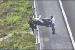 Ngày càng có nhiều xe máy đi vào đường cao tốc