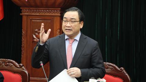 Hoàng Trung Hải, Bí thư Thành ủy Hà Nội, loa phường, bóng cười, chính quyền phục vụ