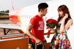 Săn vé Valentine, cùng người thân yêu bay khắp thế gian