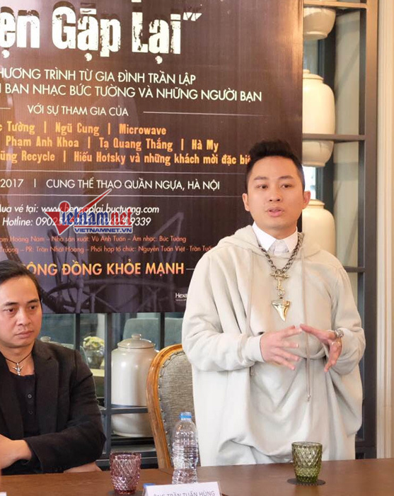 MC Anh Tuấn,Trần Lập,Bức Tường,Tùng Dương