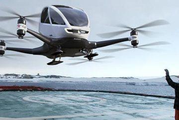 Dubai triển khai máy bay chở khách không người lái