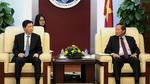 Bộ trưởng Trương Minh Tuấn tiếp Đại sứ Hàn Quốc