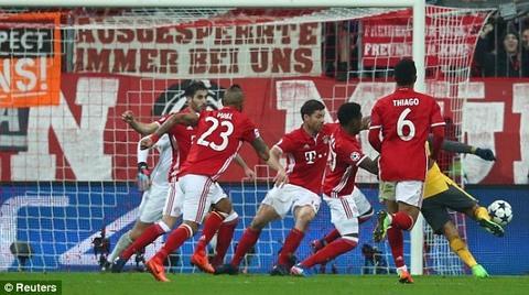 Bayern 1-0 Arsenal Robben goal 30