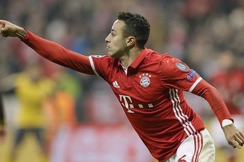 Bayern 3-1 Arsenal Thiago goal 56