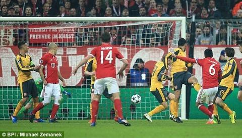 Bayern 3-1 Arsenal Thiago goal 63