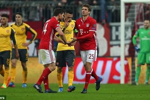 Bayern 5-1 Arsenal Muller goal 88