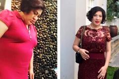 Nữ doanh nhân nằm mơ không nghĩ có ngày giảm được 41kg