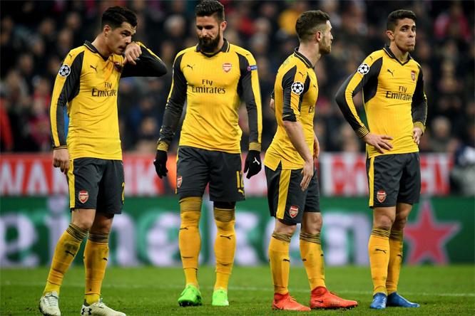 Wenger chua chát: 'Arsenal sụp đổ quá nhanh'