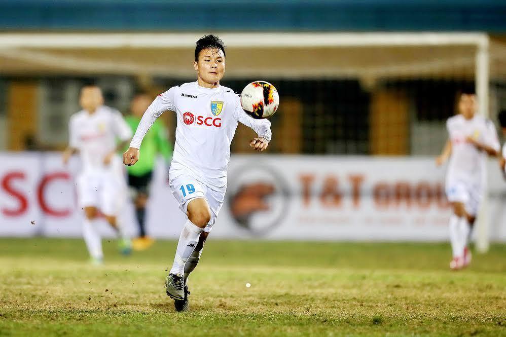 V-League 2017, Hà Nội FC vs Hải Phòng vòng 6 V-League, Quang Hải, sao trẻ U23 Việt Nam Quang Hải
