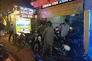 Khỏa thân kích dục cho khách trong tiệm massage ở Sài Gòn