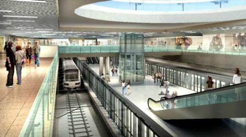 Vòng xoay trước chợ Bến Thành bị tháo dỡ làm nhà ga metro