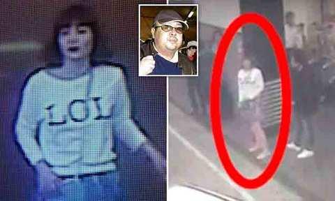 Video mô tả quá trình Kim Jong Nam bị sát hại