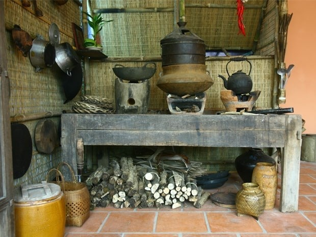 Hoài niệm hình ảnh khó quên về bếp trong nhà Việt xưa - ảnh 3