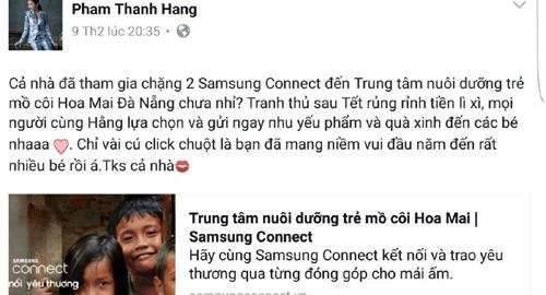 Thanh Hằng, Đông Nhi, Lan Ngọc kêu gọi kết nối yêu thương