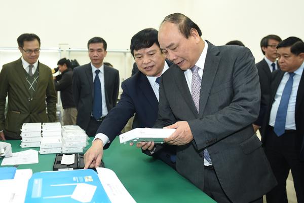 Thủ tướng: Giải phóng xong mặt bằng Khu CNC Hòa Lạc trong 2017