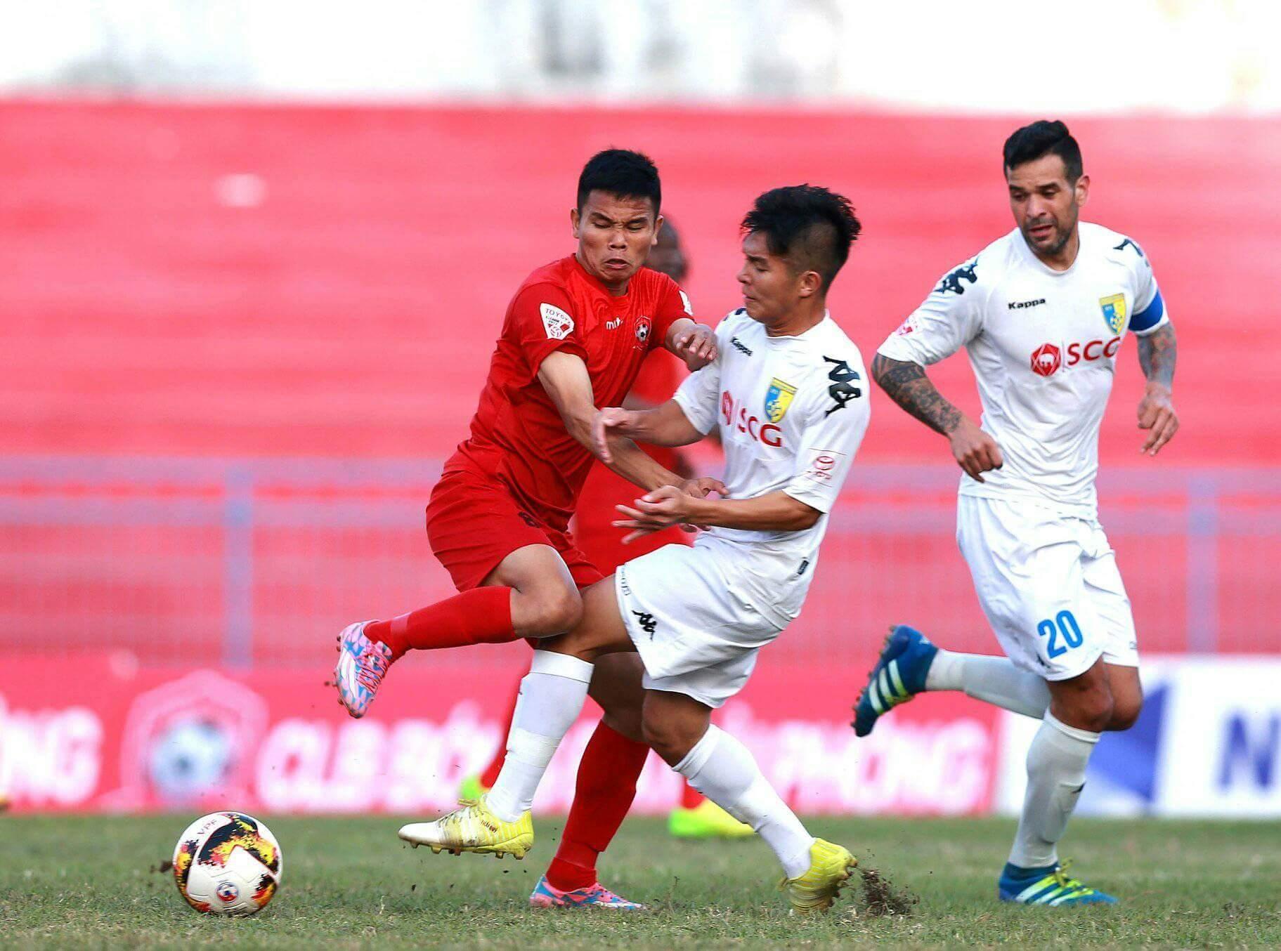 Hải Phòng vs Hà Nội FC, V-League, Thành Lương
