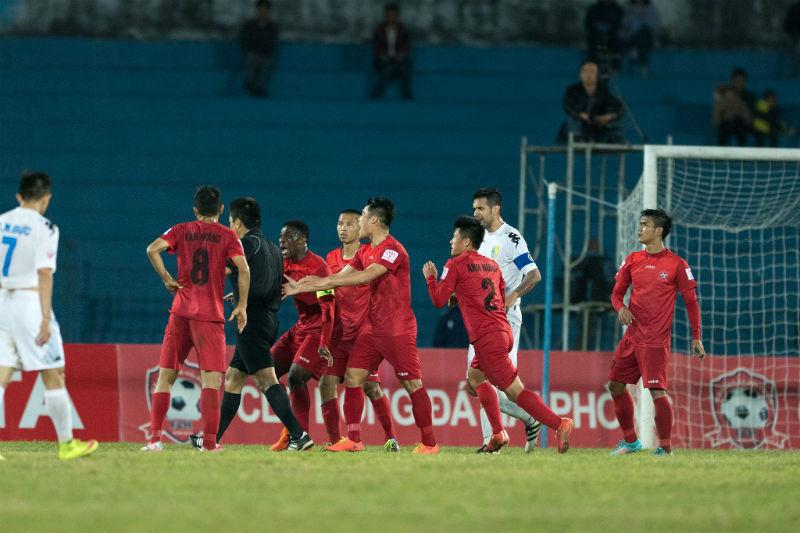 CLB Hải Phòng, CĐV Hải Phòng, V.League 2017, Hải Phòng vs CLB Hà Nội, VFF, VPF