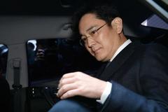 Lãnh đạo Samsung bị bắt