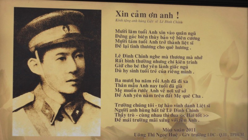 Gặp lại người mẹ của liệt sĩ Lê Đình Chinh