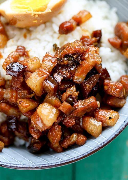 món ngon, ẩm thực, món ngon từ thịt lợn, thịt lợn om,