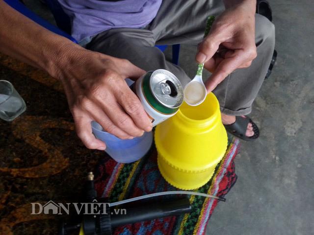 Chiêu lạ: Dùng bia để tưới cây, bón nấm ở Phú Yên - ảnh 1