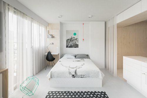 thiết kế nhà nhỏ, nhà nhỏ dưới 30m2, nhà cho cặp vợ chồng trẻ