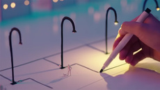 Siêu bút có thể biến nét vẽ thành... mạch điện