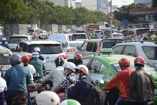 Tân Sơn Nhất, sân bay Tân Sơn Nhất, sân bay, kẹt xe, ùn tắc, mở rộng sân bay