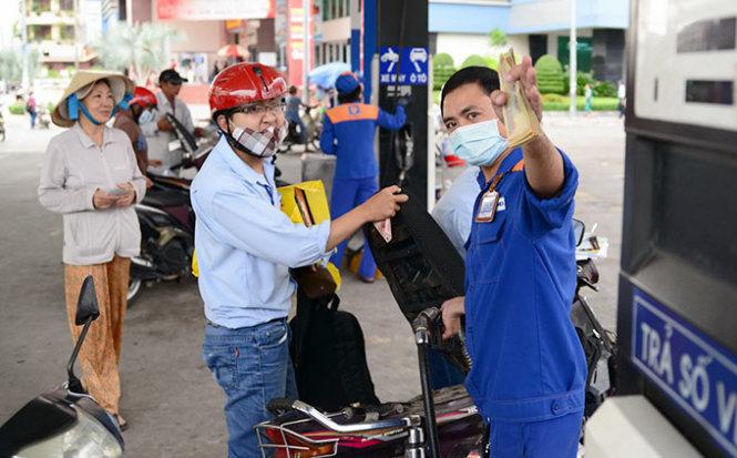 giá xăng, tăng giá xăng,chu kỳ điều chỉnh giá xăng dầu
