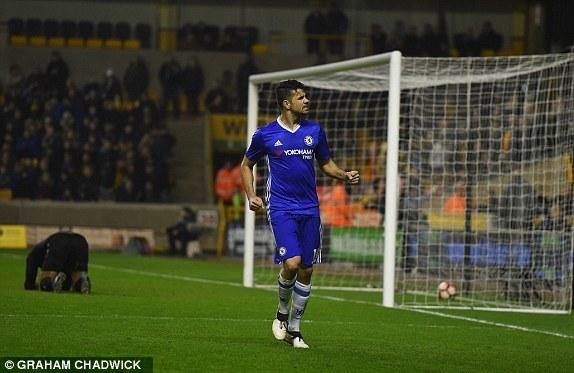 Wolverhampton vs Chelsea, FA Cup, Chelsea, Conter