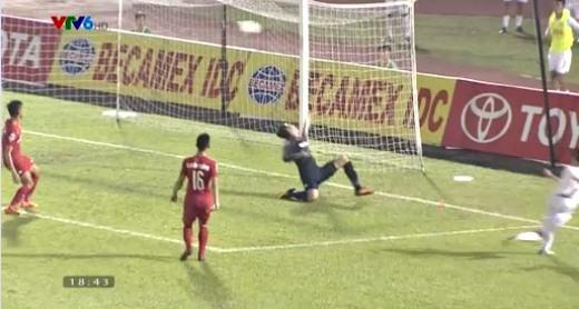 Bình Dương 0-0 HAGL phút 44 Văn Toàn