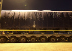 """544 bánh xe siêu trường siêu trọng """"hộ tống"""" đoàn tàu Cát Linh - Hà Đông"""