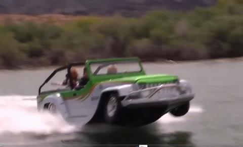 Xe buýt trên sông hoạt động như thế nào?