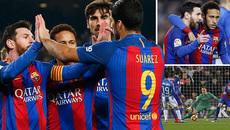 Video bàn thắng Barca 2-1 Leganes