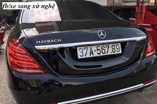 Siêu xe 14 tỷ đeo biển 'san bằng tất cả' ở Nghệ An
