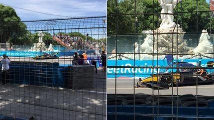 Cuộc đua xe không người lái đầu tiên kết thúc bằng tai nạn
