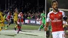 Video bàn thắng Sutton 0-2 Arsenal