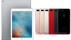 iPad Pro mới, iPhone 7 màu đỏ ra mắt tháng 3
