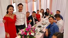 Hình ảnh hiếm hoi từ lễ ăn hỏi của MC Thành Trung