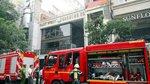 Nhà hàng ở Sài Gòn phát hỏa, thực khách nháo nhào tháo chạy