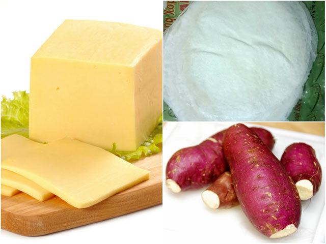 nem phô mai khoai lang, món ngon, hướng dẫn nấu ăn