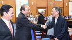 Thủ tướng mong cán bộ lão thành Quảng Ngãi 'tiền hô hậu ủng' cho sự phát triển